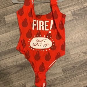 Forever21 Taco Bell FIRE! Swimsuit SOLD OUT ONLINE